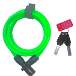 Велозамок OnGuard 8192 Coil Cable Lock 1500x8 green