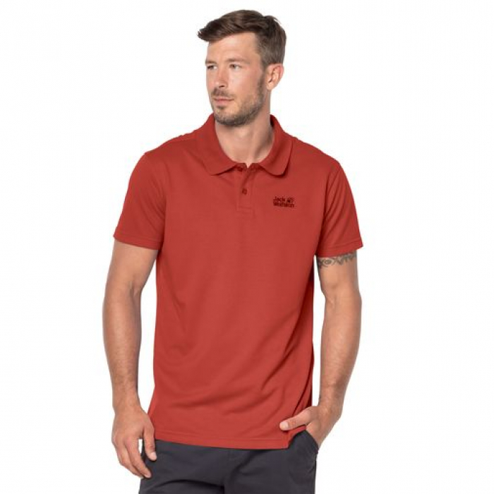 РУБАШКА ПОЛО JACK WOLFSKIN PIQUE POLO MEN