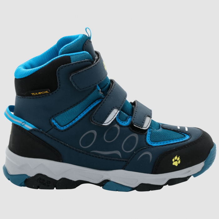 ДЕТСКИЕ БОТИНКИ JACK WOLFSKIN MTN ATTACK 2 TEXAPORE MID VC K